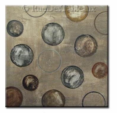 Bubbles - tableau peint-main peinture à l'huile