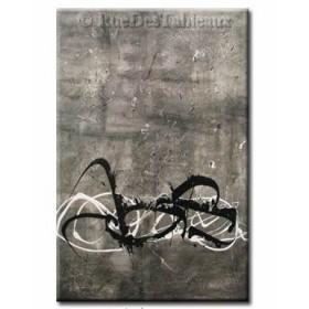 Araignée sous la pluie - tableau peint-main peinture à l'huile