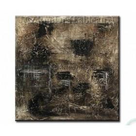 Vers la lumière - tableau peint-main peinture à l'huile