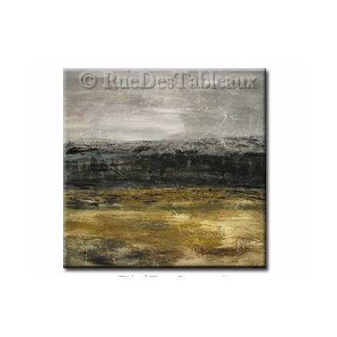Mer de pétrole - tableau peint-main peinture à l'huile