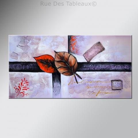 Enveloppe d'automne - tableau peint-main peinture à l'huile