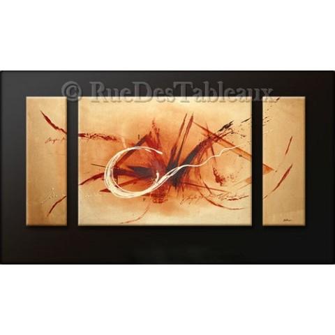 Conception - tableau peint-main peinture à l'huile