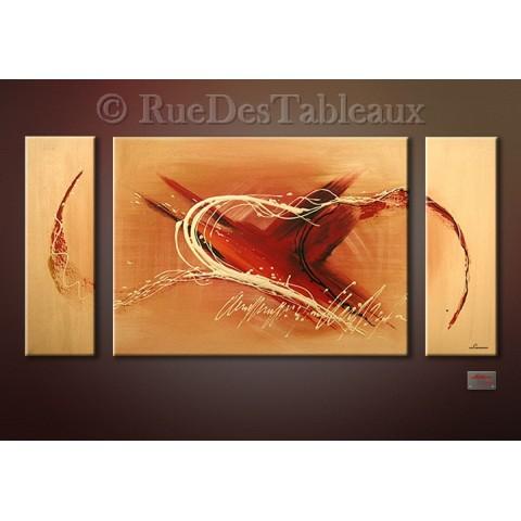 Foudre 1 - tableau peint-main peinture à l'huile