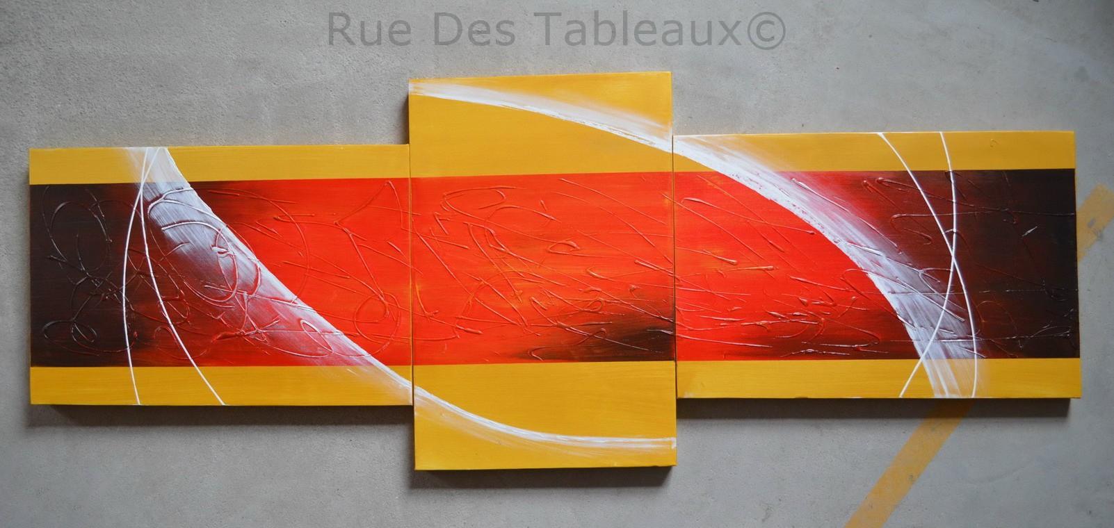 Regard flamboyant - tableau peint-main peinture à l'huile