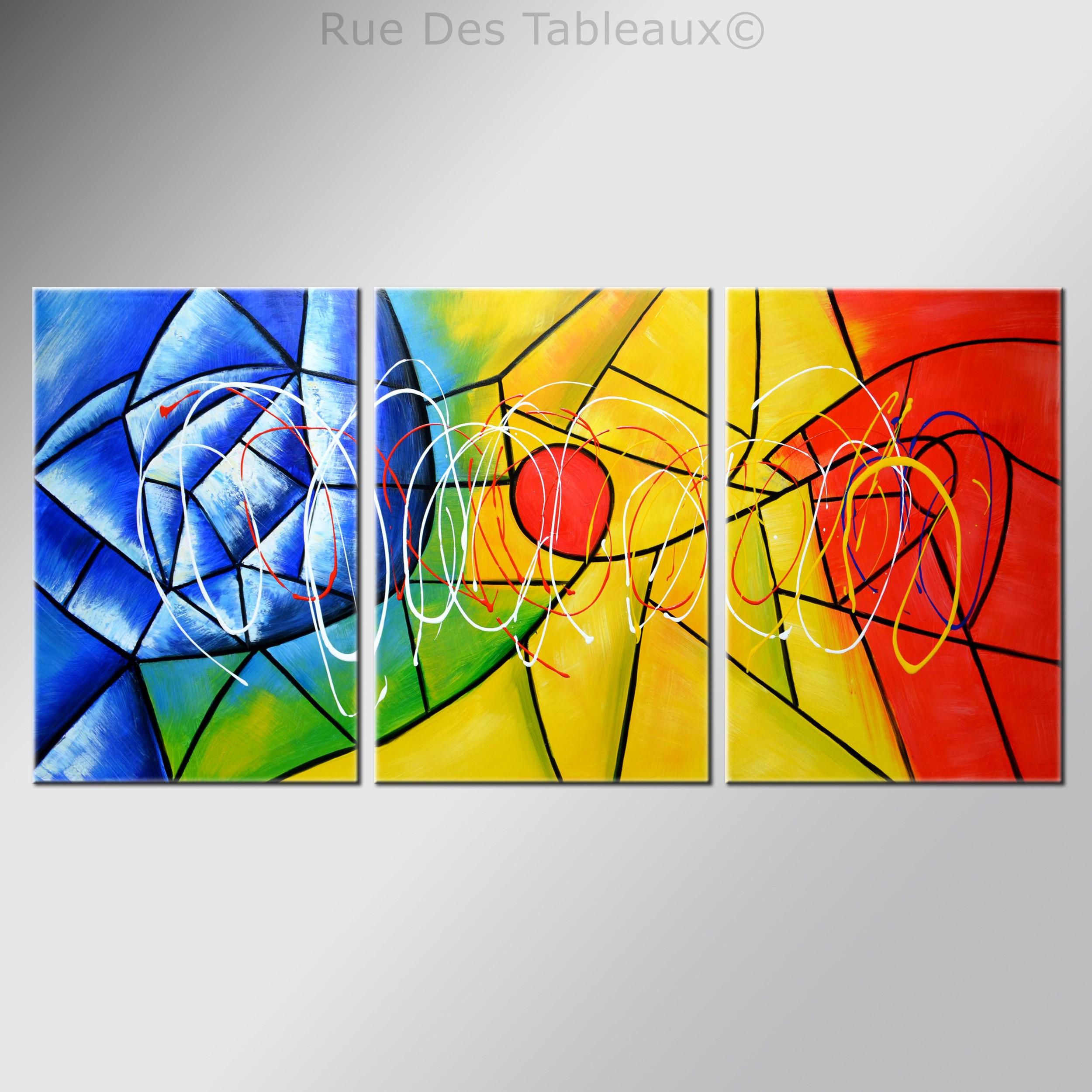 Composition florale - tableau peint-main peinture à l'huile