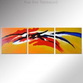 Le ballet du torero - tableau peint-main peinture à l'huile