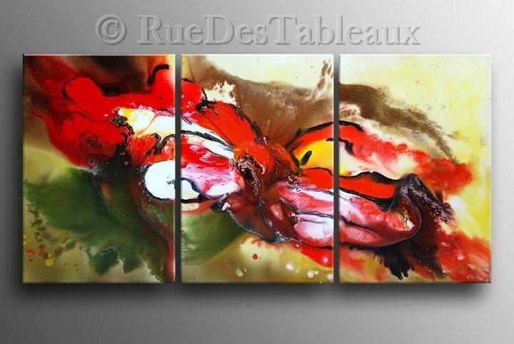 Clown dilué - tableau peint-main peinture à l'huile