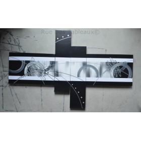 Diapositive - tableau peint-main peinture à l'huile