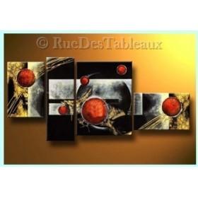 Lancers passionnés - tableau peint-main peinture à l'huile