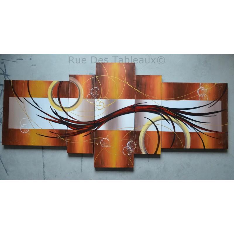 Impressionnant Rue Des Tableaux #3: Boucles Et Anneaux - Tableau Peint-main Peinture à Lu0027huile