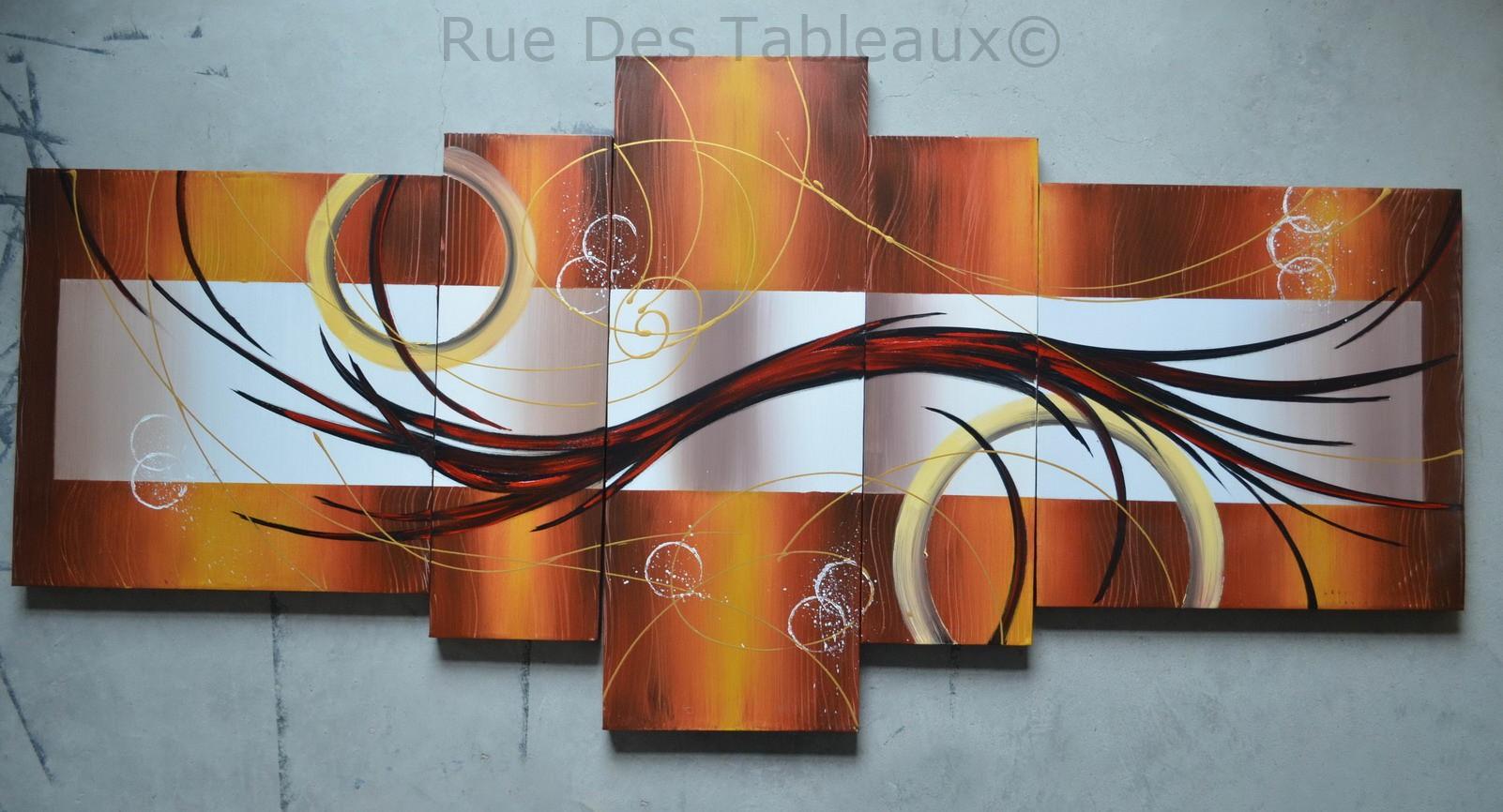 Boucles et anneaux - tableau peint-main peinture à l'huile