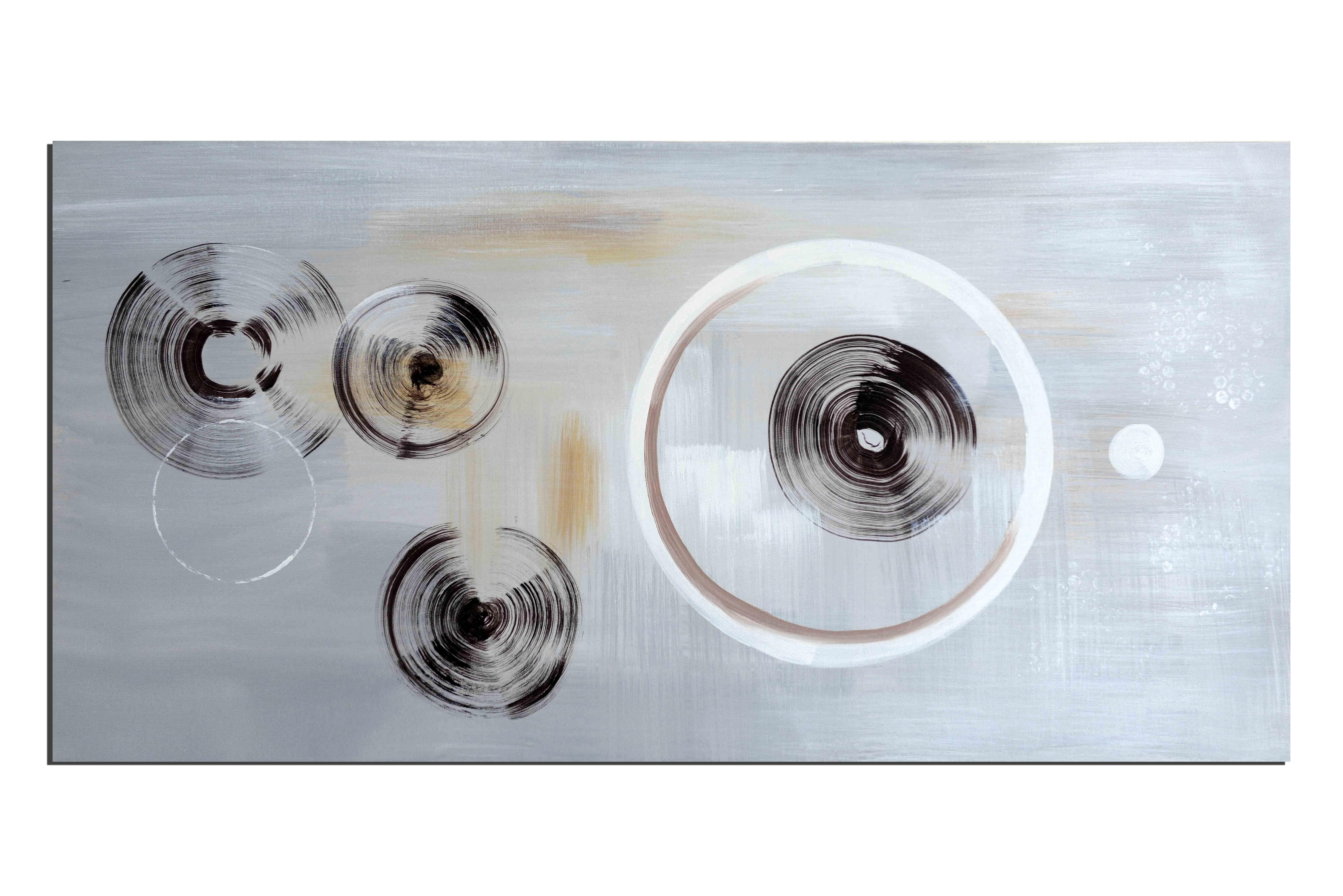 A la loupe - tableau peint-main peinture à l'huile