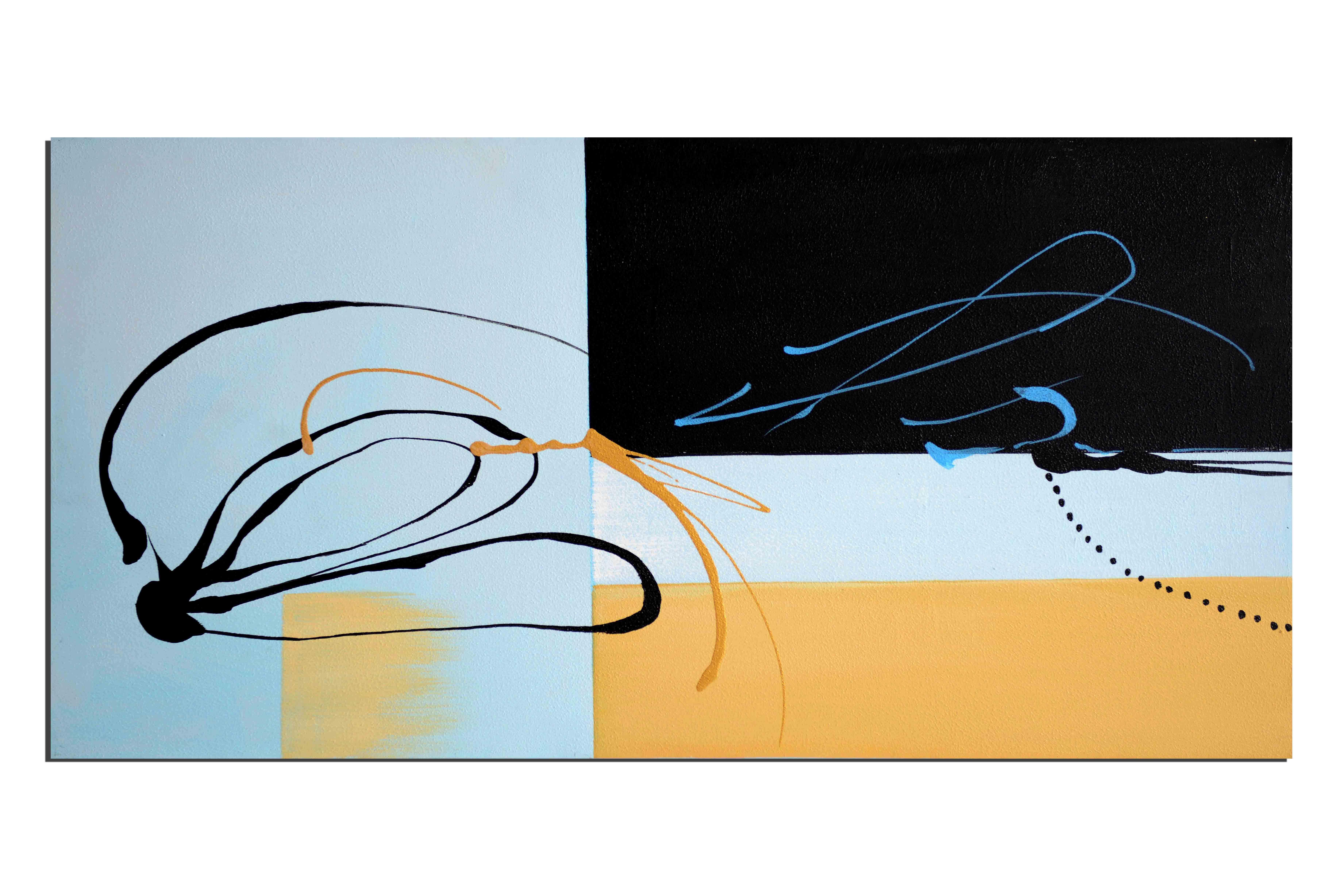 Signature de l'artiste - tableau peint-main peinture à l'huile