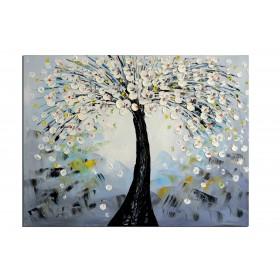 Nature d'ailleur - tableau peint-main peinture à l'huile