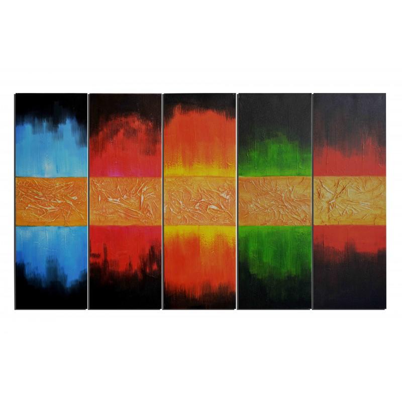 Tableaux abstrait tableau asiatique moderne vente tableau - Vente tableaux peinture a l huile ...