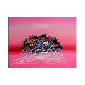 Croisière sur la mer rouge - tableau peint-main peinture à l'huile