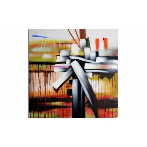 Paquet cadeau - tableau peint-main peinture à l'huile