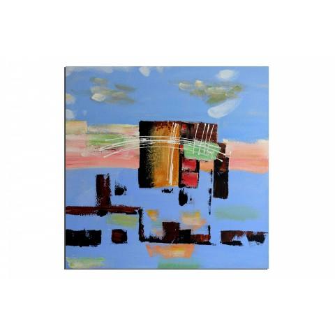 Super mario - tableau peint-main peinture à l'huile
