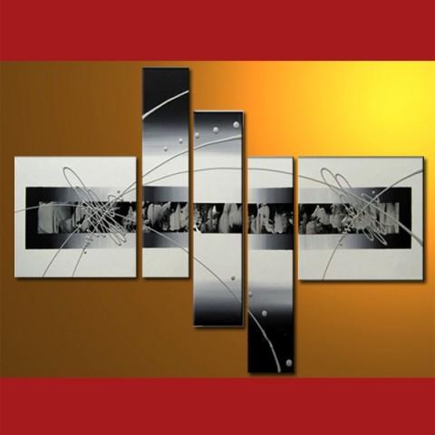 Tableaux abstrait peintre contemporain abstrait tableaux for Tableau noir et blanc moderne