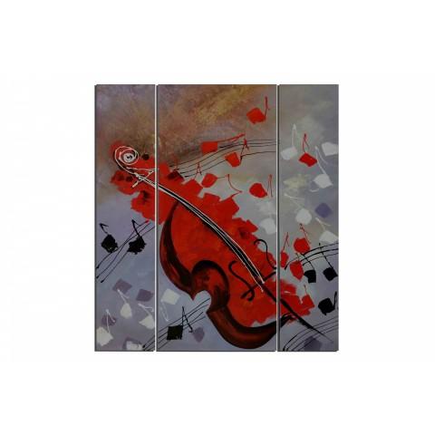 Instrument d'amour - tableau peint-main peinture à l'huile