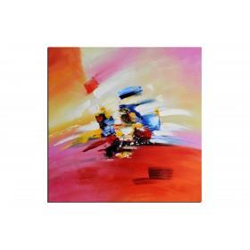 Plumeau - tableau peint-main peinture à l'huile