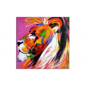 Le roi de la juggle - tableau peint-main peinture à l'huile