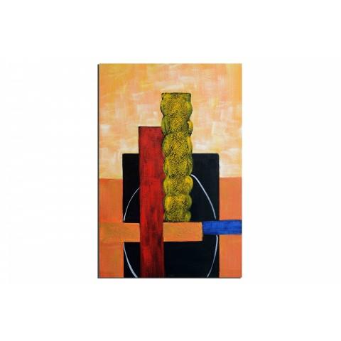 Delire de l'artiste - tableau peint-main peinture à l'huile