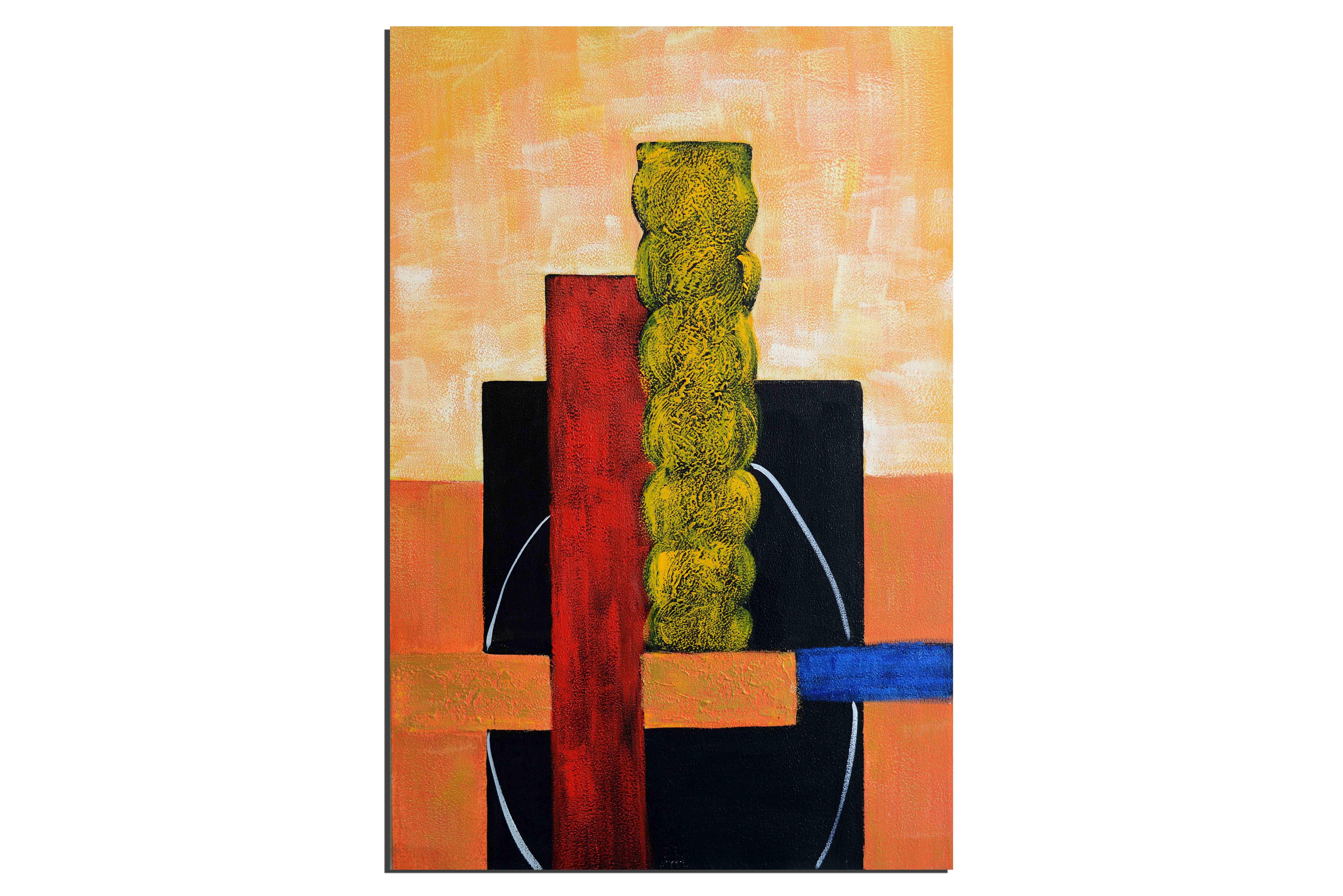 Tableaux abstrait tableau chambre vente tableau contemporain - Vente tableaux peinture a l huile ...
