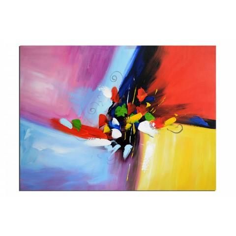 Pétales - tableau peint-main peinture à l'huile
