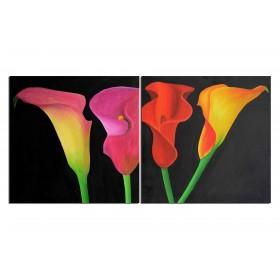 Aromes - tableau peint-main peinture à l'huile