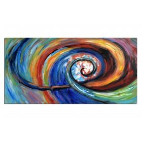 Tableau abstrait peinture acheter des tableaux deco ruedestableaux - Acheter tableau peinture ...