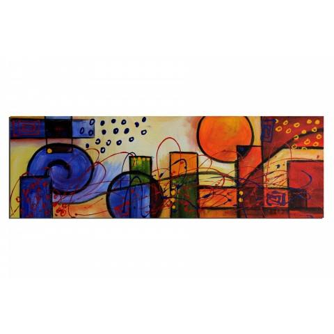 L'Escargot des quatre saisons - tableau peint-main peinture à l'huile