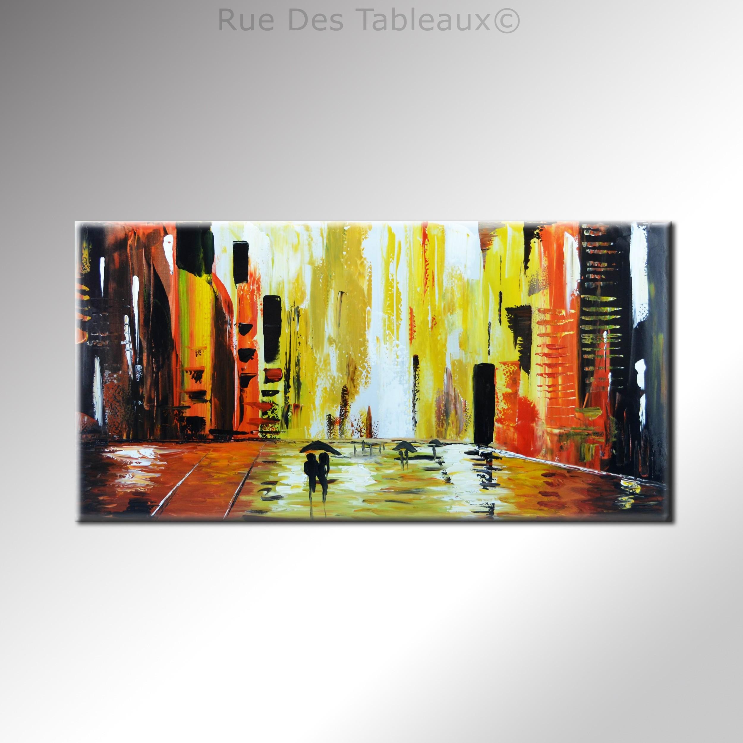 Tableaux abstrait decoration tableaux tableau peinture for Decoration tableau peinture