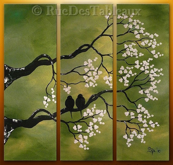 Rez-De-Chaussée - tableau peint-main peinture à l'huile