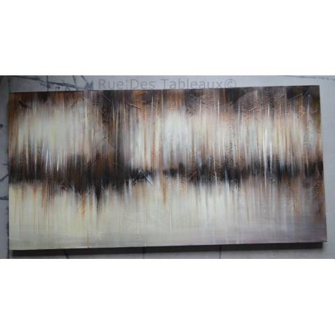 Electro-Encéphalogramme polaire - tableau peint-main peinture à l'huile