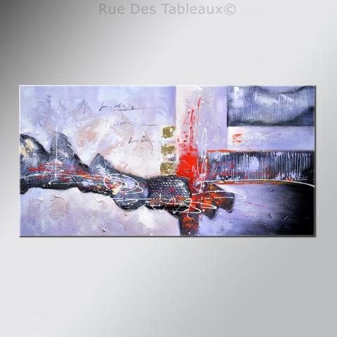 Effusion De Lave   Tableau Peint Main Peinture à Lu0027huile