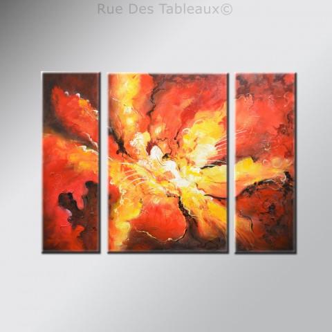Tableaux abstrait art tableau d coratif - Tableau en bois enfant ...
