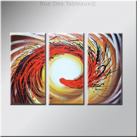 Langue de dragon 2 - tableau peint-main peinture à l'huile