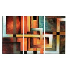 Labyrinthe - tableau peint-main peinture à l'huile