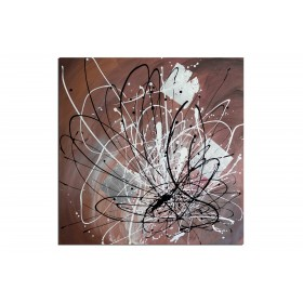 La colère - tableau peint-main peinture à l'huile