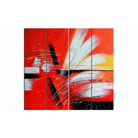 Sydney et son opéra - tableau peint-main peinture à l'huile