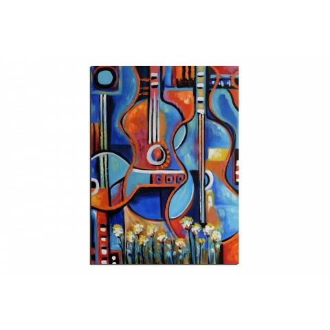 Baba cool - tableau peint-main peinture à l'huile