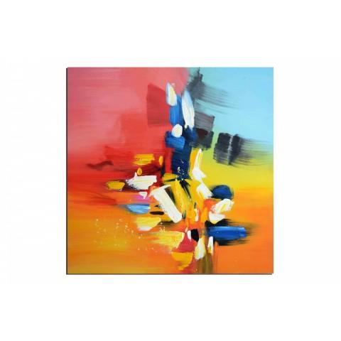 Palette - tableau peint-main peinture à l'huile