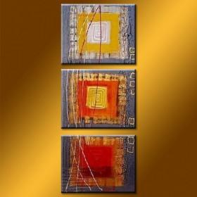 Cubique - tableau peint-main peinture à l'huile