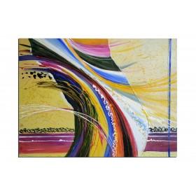 Danse sensuelle - tableau peint-main peinture à l'huile