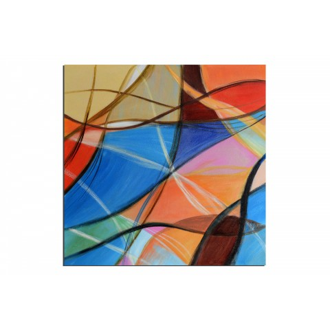 Cerf-Volant - tableau peint-main peinture à l'huile