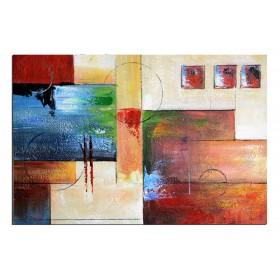 Carte postale - tableau peint-main peinture à l'huile