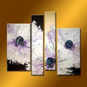 L'Organe floral - tableau peint-main peinture à l'huile