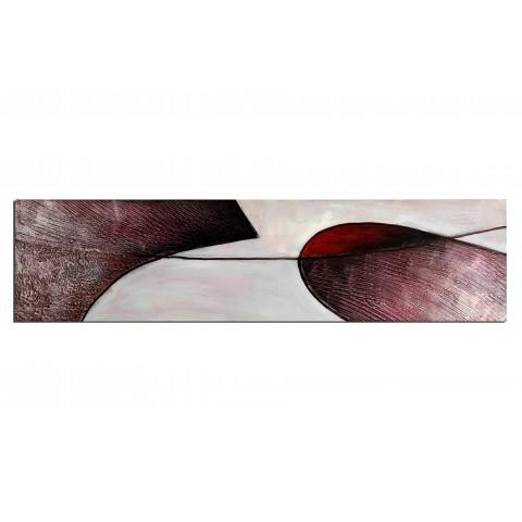 Formes pourpres - tableau peint-main peinture à l'huile