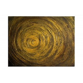 Cymbale - tableau peint-main peinture à l'huile